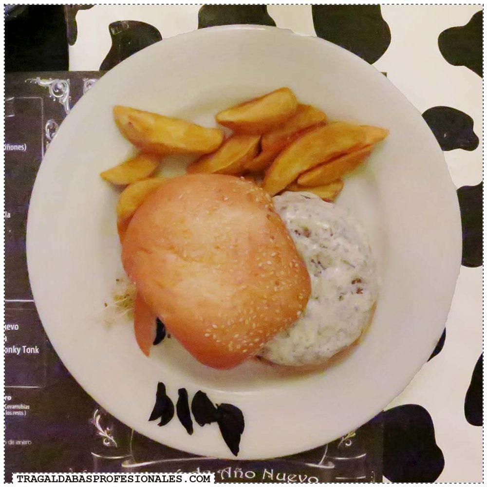 Tragaldabas Profesionales - Truffled cheese kobe burger - Pecado Carnal
