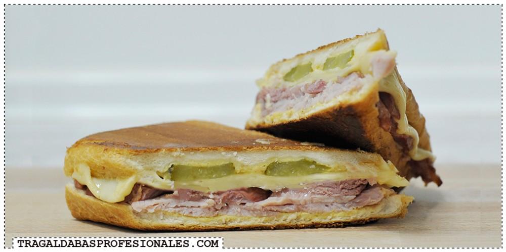 Sandwich Cubano - Tragaldabas Profesionales